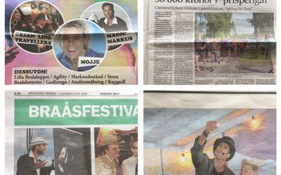 Kul att trolleri uppmärksammas så mycket i lokalpressen just nu!